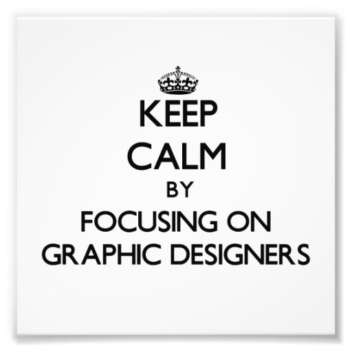 Gardez le calme en se concentrant sur les concepte impressions photographiques