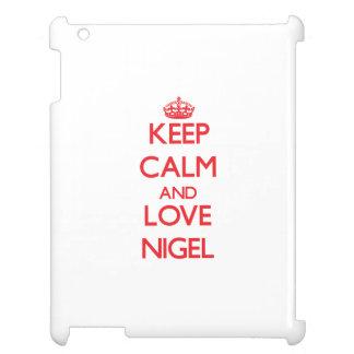 Gardez le calme et aimez Nigel Coques iPad