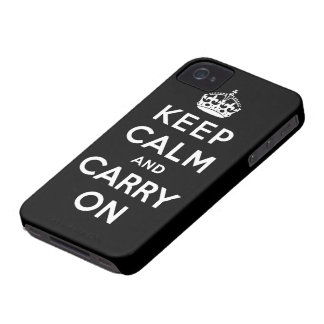 gardez le calme et continuez l original coque Case-Mate iPhone 4
