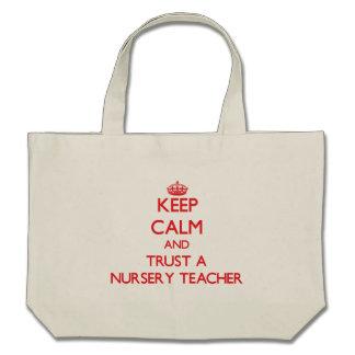 Gardez le calme et faites confiance à un professeu sacs