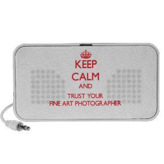 Gardez le calme et faites confiance à votre photog haut-parleurs iPod