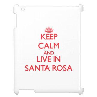 Gardez le calme et habitez à Santa Rosa Coques iPad