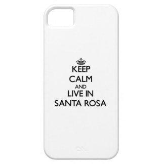 Gardez le calme et habitez à Santa Rosa Coque Case-Mate iPhone 5