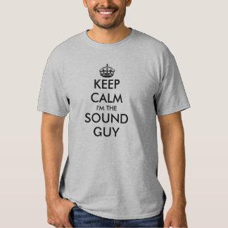 Gardez le calme, je suis le type sain tshirt