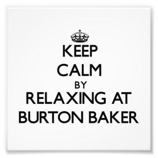 Gardez le calme par la détente à Baker Massachuset Photographie