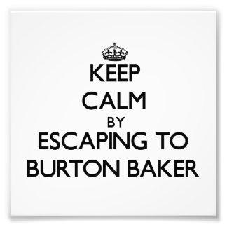 Gardez le calme par l'évasion à Baker Massachusett Photo D'art