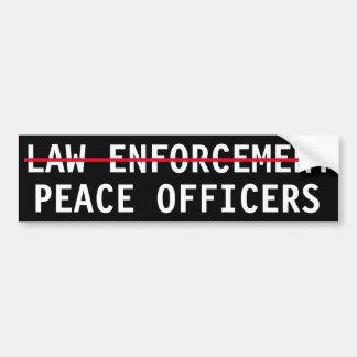 GARDIENS DE LA PAIX, PAS POLICE AUTOCOLLANT DE VOITURE