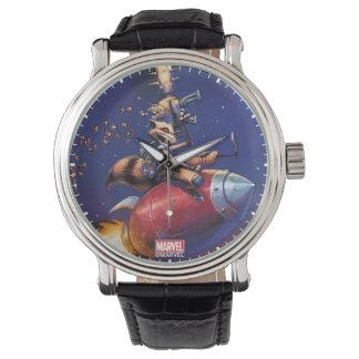 Gardiens du missile d'équitation de la galaxie | montres
