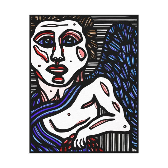 """Garding"" 22 x 28 Gallery Wrap Canvas Print"