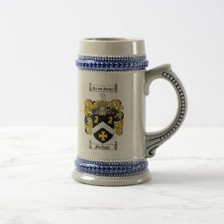 Gardner Coat of Arms Stein / Gardner Crest Stein