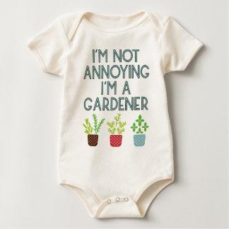 Gardner garden flowers Veggie plants Floristin Baby Bodysuit