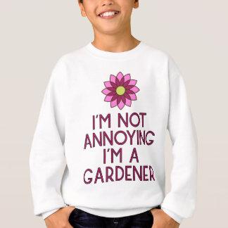 Gardner garden flowers Veggie plants Floristin Sweatshirt