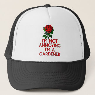 Gardner garden flowers Veggie plants tree farmer Trucker Hat