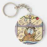 Garfield Christmas Eve Keychain