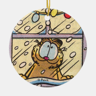 Garfield Christmas Eve PERSONALIZED Ornament