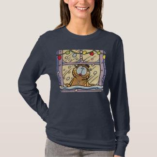 Garfield Christmas Eve Women's T-Shirt