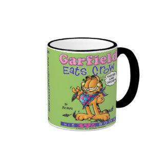 Garfield Eats Crow Mug