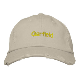 Garfield Embroidered Hat