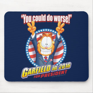 Garfield For President in 2016 Mouse Pad