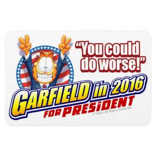 Garfield For President in 2016 Rectangular Photo Magnet