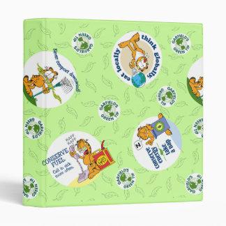 Garfield Goes Green Print Binder