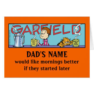 Garfield Lazy Mornings Greeting Cards