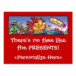 Garfield Logobox Holiday Presents Postcards