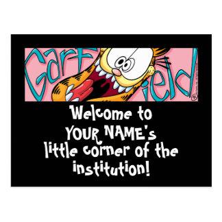 Garfield Logobox Little Corner Postcards