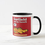 Garfield Out To Lunch Mug
