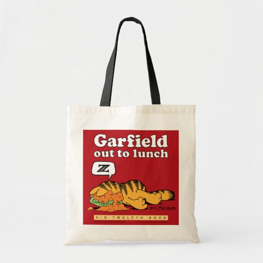 Garfield Out To Lunch Tote Bag