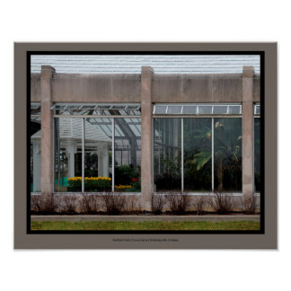 Garfield Park Conservatory ~ Indianapolis Poster