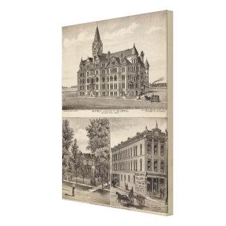 Garfield University, Kansas Canvas Prints