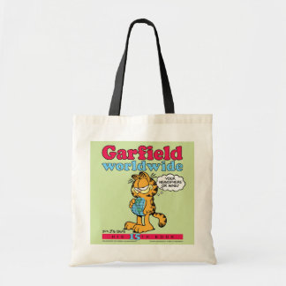 Garfield Worldwide Tote Bag