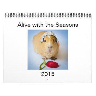 Garfunkel, the guinea pig, 2015 Wall Calendar. Calendars