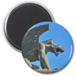 Gargoyle 2 Inch Round Magnet