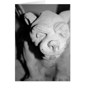 Gargoyle Closeup card