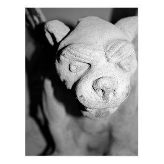 Gargoyle Closeup postcard