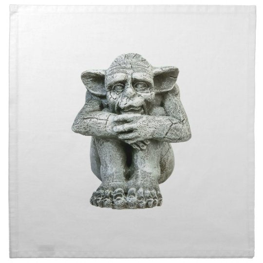 Gargoyle Cloth Napkin