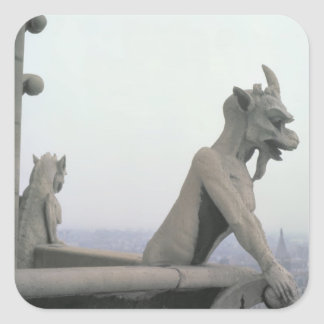 Gargoyle from the balustrade of the Grande Square Sticker
