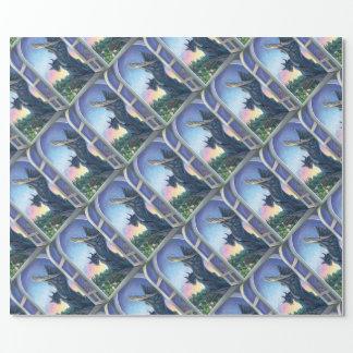 Gargoyle Guardian Wrapping Paper