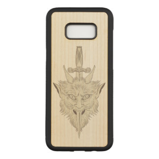 Gargoyle Illustration Carved Samsung Galaxy S8+ Case