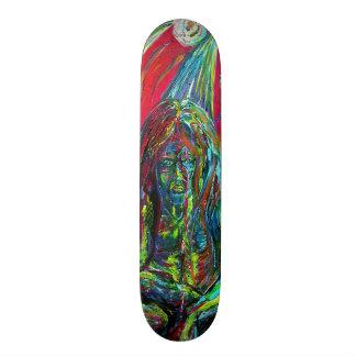 Creatures skateboards creatures skateboard decks for Best paint for skateboard decks