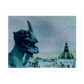 GargoyleParis Postcard