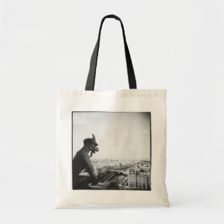 Gargoyles Of Notre Dame De Paris Tote Bag