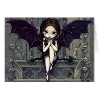 """Gargoyles of Notre Dame"" Greeting Card"