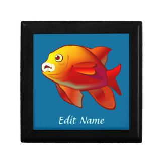 Garibaldi Fish Keepsake Box