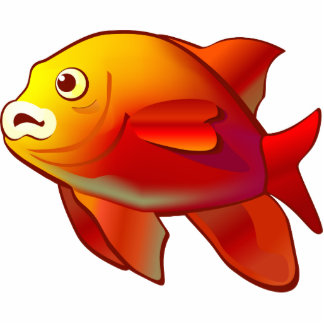 Garibaldi Fish Photo Sculpture Magnet