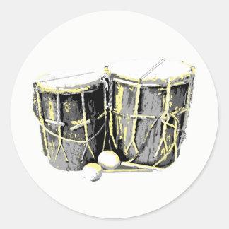 Garifuna Drum Stickers