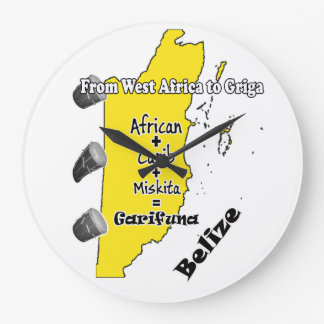 Garifuna Settlement Day clock