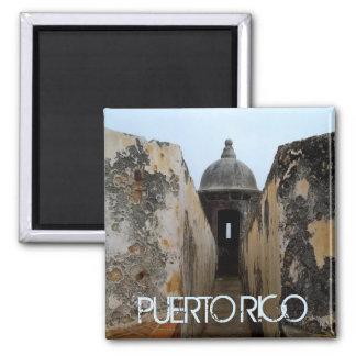 Garita, El Morro San Juan Fridge Magnets